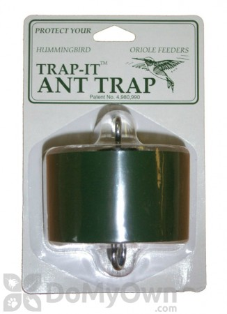Wildlife Accessories Trap - It Ant Trap Green Carded For Hummingbird / Oriole Feeders (WAANTGRN)