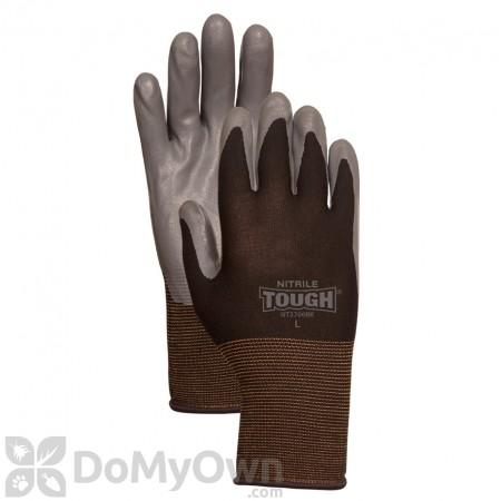 LFS Bellingham Nitrile Tough Gloves - Black Medium