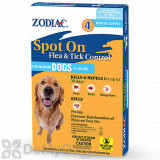 Zodiac Spot On Flea and Tick Control for Medium Dogs (31-60 lbs.) - 4 Pack