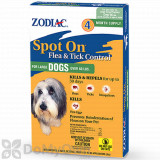 Zodiac Spot On Flea and Tick Control for Large Dogs (Over 60 lbs.) - 4 Pack