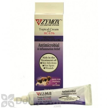 Zymox Topical Cream with HC 0.5%