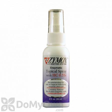 Zymox Topical Spray with HC .5%
