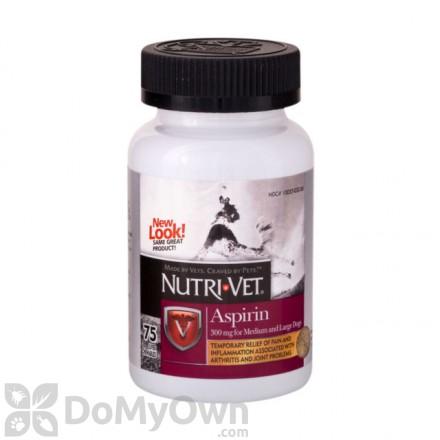 Nutri - Vet Hip Aspirin 300 mg for Large Dogs