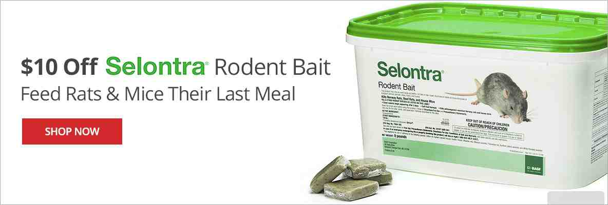 $10 off Selontra to Feed Rats & Mice Their Last Meal