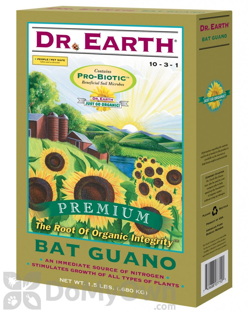 Dr Earth Premium Bat Guano 10-3-1