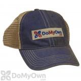 DoMyOwn.com Vintage Trucker Hat - Blue