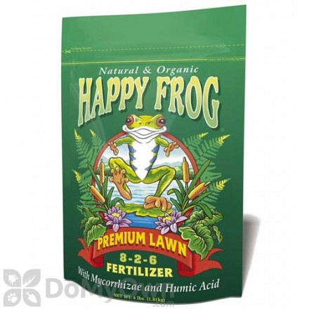 FoxFarm Happy Frog Premium Lawn Organic Fertilizer 8-2-6