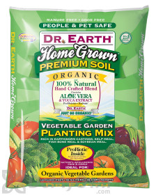 Dr Earth Home Grown Organic Vegetable Planting Mix