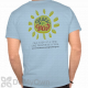 Grace for Grant Against Cancer T-Shirts - Blue
