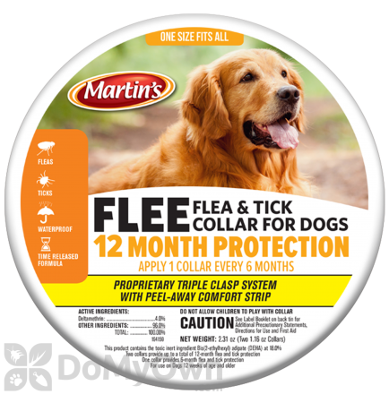FLEE Flea & Tick Collar for Dogs