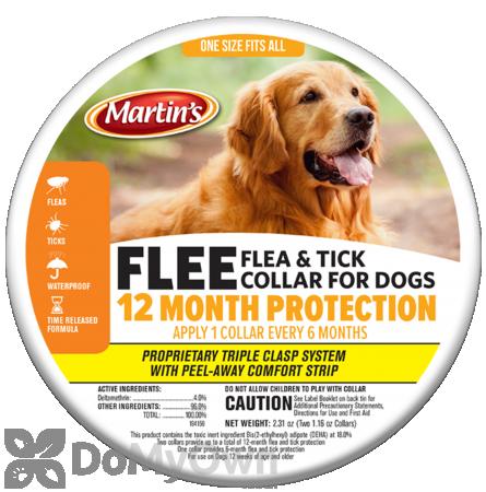 FLEE Flea & Tick Collar for Dogs