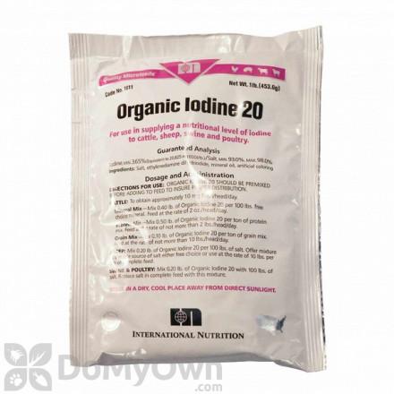 Durvet Organic Iodine 20 Grain