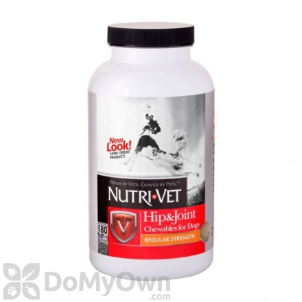 Nutri - Vet Hip and Joint Regular Strength Chewables