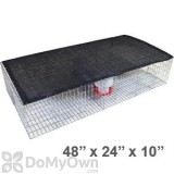 Bird Barrier Large Pigeon Trap with Shade, Water and Feeder (tt-sw15)