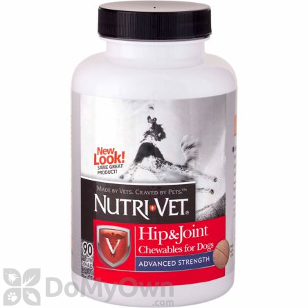 Nutri - Vet Hip and Joint Advanced Strength Chewables