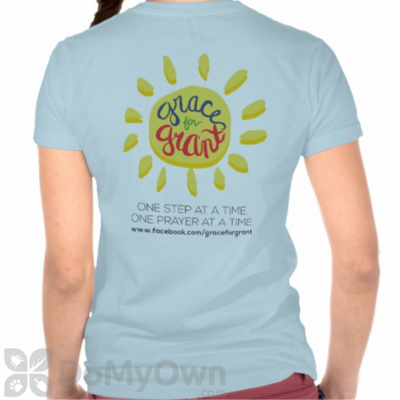 Grace for Grant Supportive T-Shirts Pre-Order - Blue (Adult XXL)