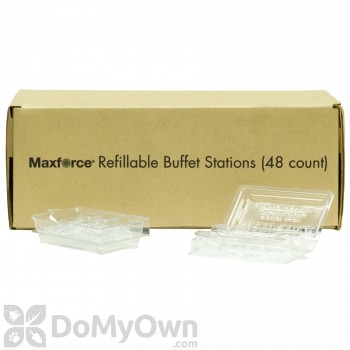 Maxforce Refillable Buffet Station - Box (48 stations)