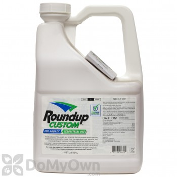 Roundup Custom Aquatic Terrestial Herbicide