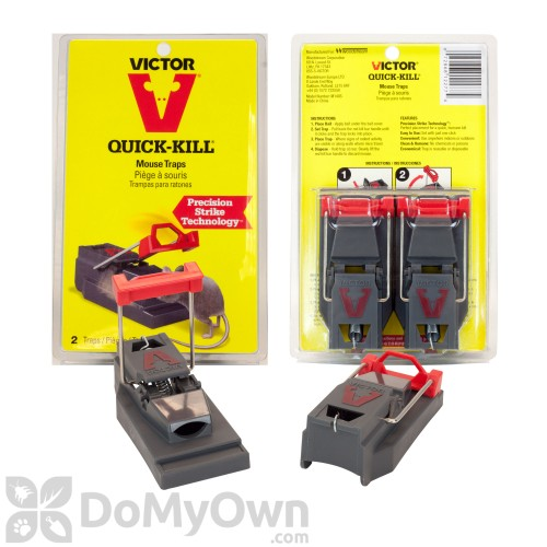 Victor Quick Kill Mouse Traps