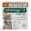 Advantage II Flea Treatment for Small Cats 5 - 9 lbs.