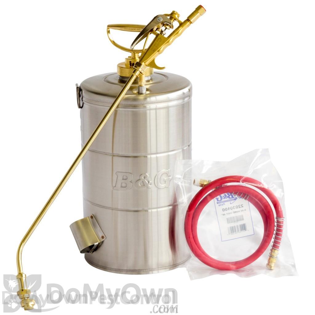 B G 2 Gallon Sprayer 18 In Wand Extenda Ban Valve With C C Tip N224 Cc 11004300