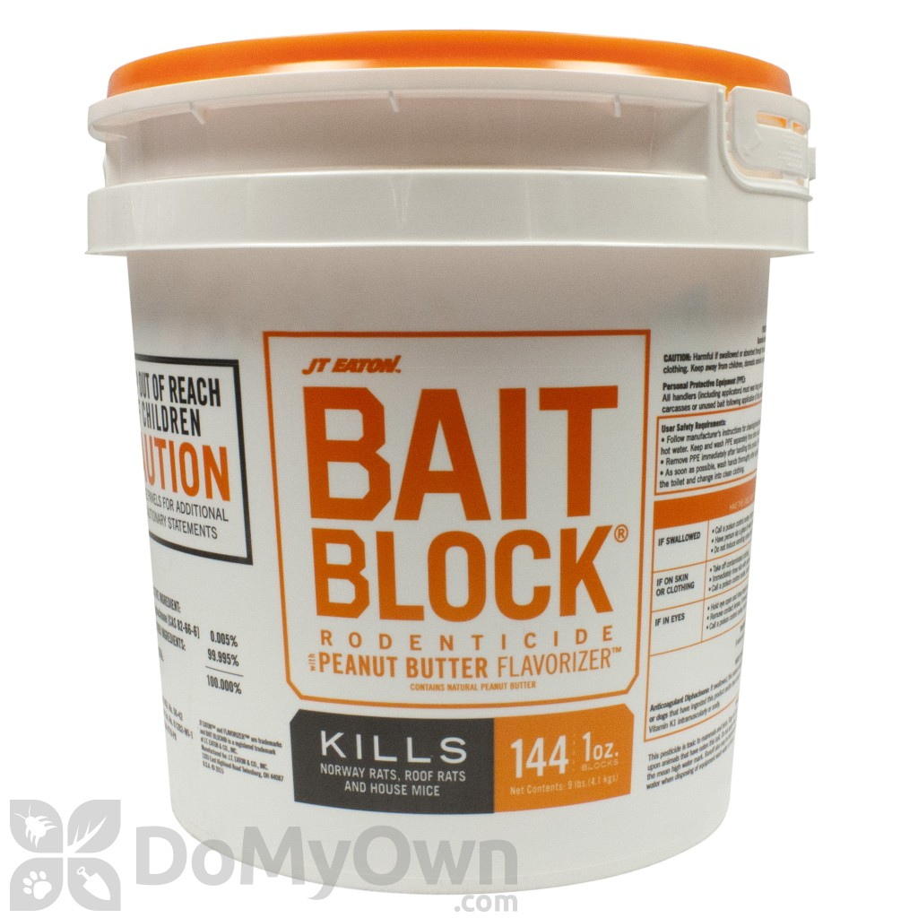 Jt Eaton Bait Block Rodenticide With Peanut Butter