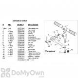 B&G Versatool Valve Rod (22059800)