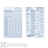 Protecta Service Record Cards
