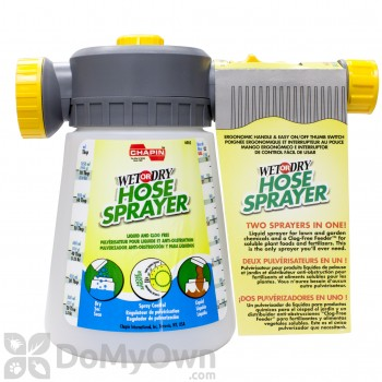 Chapin Wet / Dry Hose-End Sprayer #6005