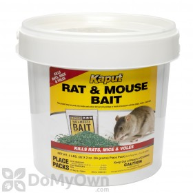 Kaput Rat & Mouse Bait