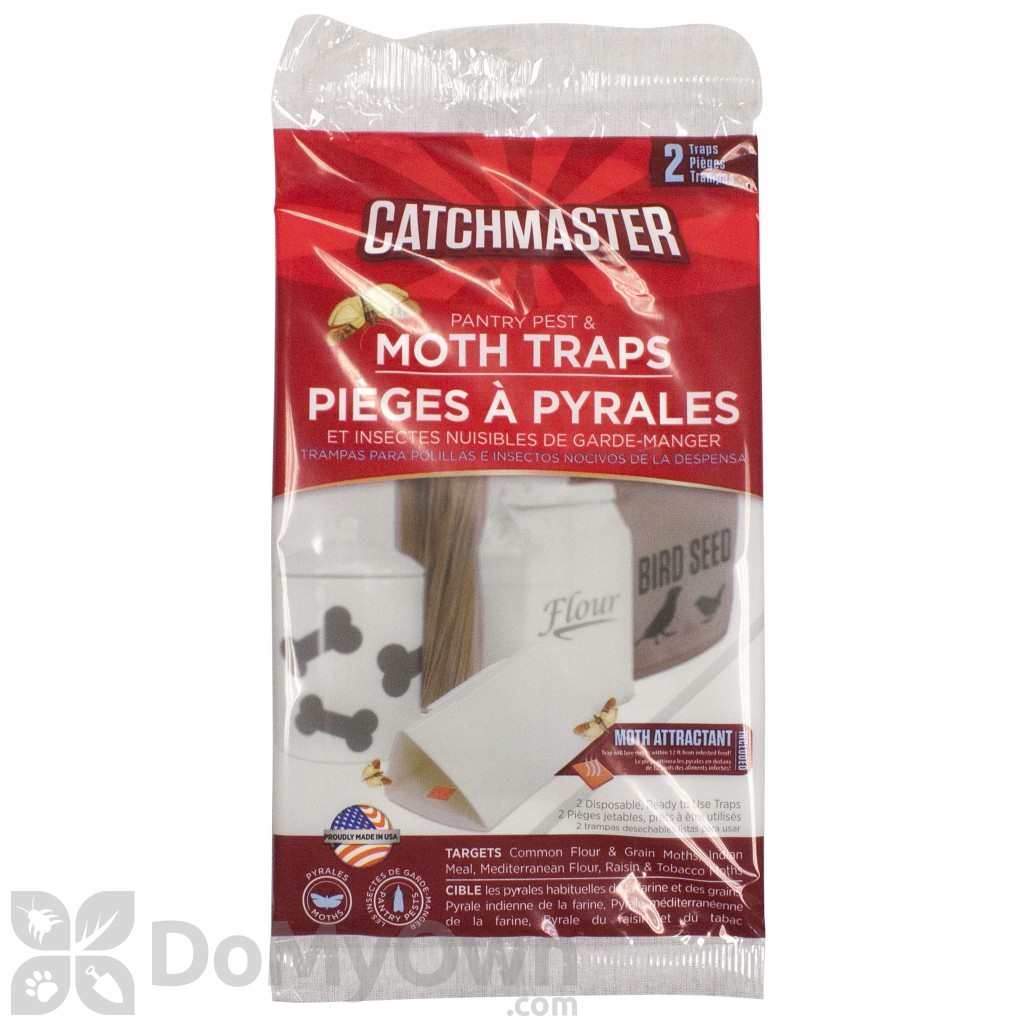 Catchmaster Food Amp Pantry Moth Traps 812b 2 Pack