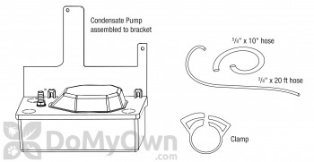 Santa Fe Dehumidifier Pump Kit (4033038)