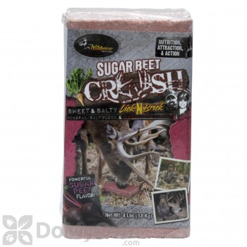 Sugar Beet Crush Lick-N-Brick Block