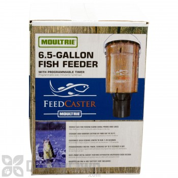 Moultrie Automatic Pond Fish Feeder (6.5 Gal)