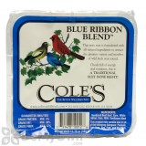 Coles Wild Bird Products Blue Ribbon Bird Seed Blend Suet Cake