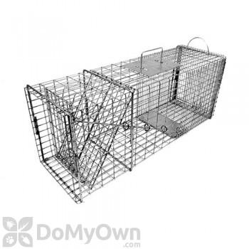 Tomahawk Deluxe Live Trap Raccoon/Feral Cat Easy Release Door - Model 608