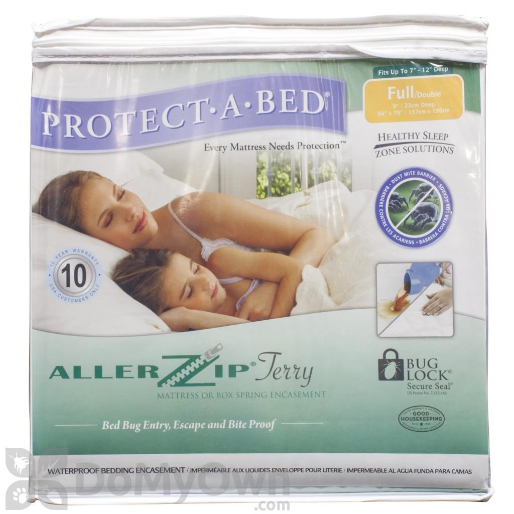 Bed Bug Mattress Cover Protect A Bed Allerzip Mattress