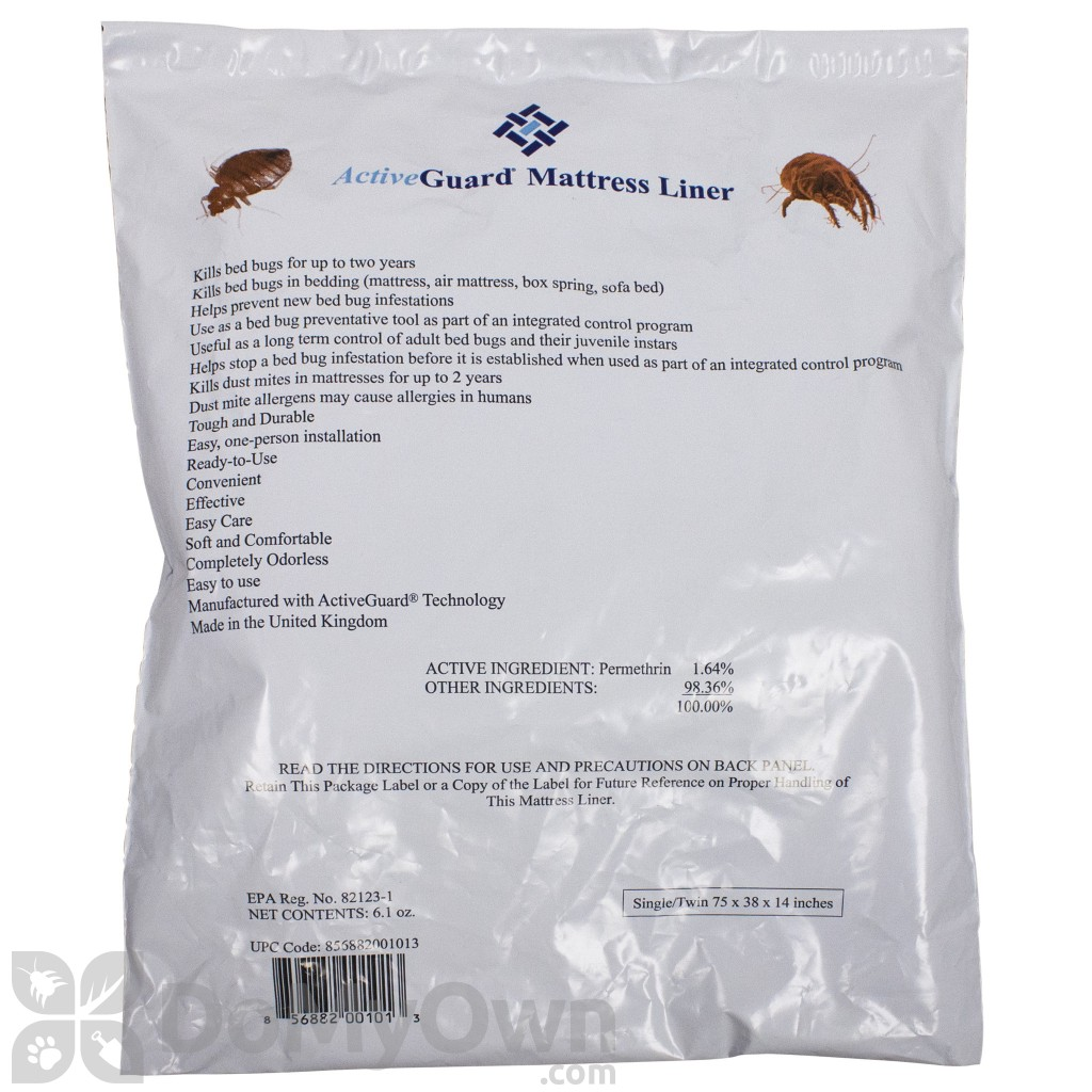 Active Guard Bed Bug Liners