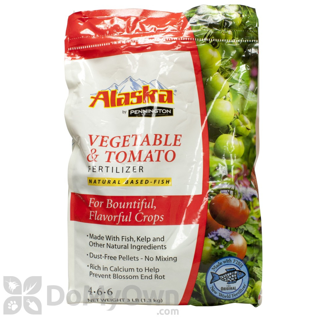 alaska by pennington tomato and vegetable fish fertilizer