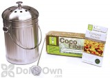 Compost Wizard Stainless Steel Starter Kit