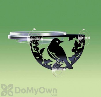 Droll Yankees Window-Mount Songbird Feeder (SILW)