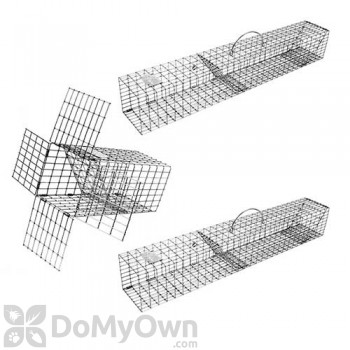 SP45 - Squirrel Pack Squirrel Removal System includes (1) E40 Excluder and (2) SPT45 Repeating Traps