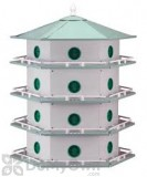 Heath Aluminum 24 Rooms Bird House (AH24D)