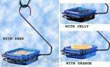Hiatt Manufacturing Hanging Jelly & Mealworm Bird Feeder (38200)