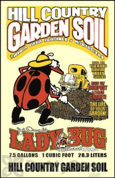 Lady Bug Natural Brand Hill Country Garden Soil