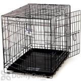 Pet Lodge Double Door Wire Pet Crate