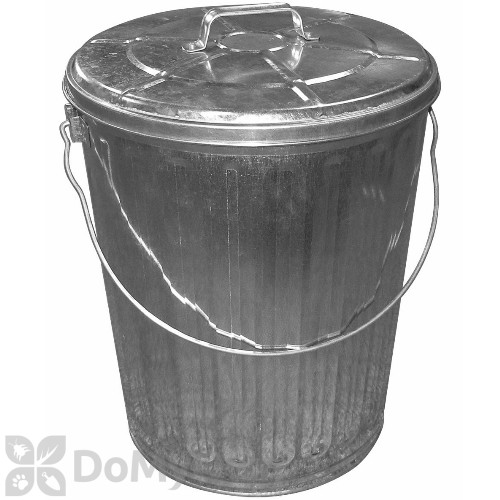 galvanized trash can galvanized trash can 28544