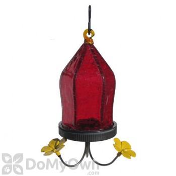 Natures Way Red Straight Jewel Bottom Fill Hummingbird Feeder 18 oz. (JHF1)
