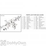 B&G Robco QCG Gun Adapter 3/8 MTP/MGH (34563)