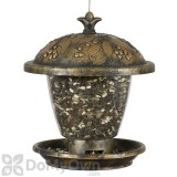 Perky Pet Holly Berry Gilded Chalet Bird Seed Feeder 9.8 in. (305)